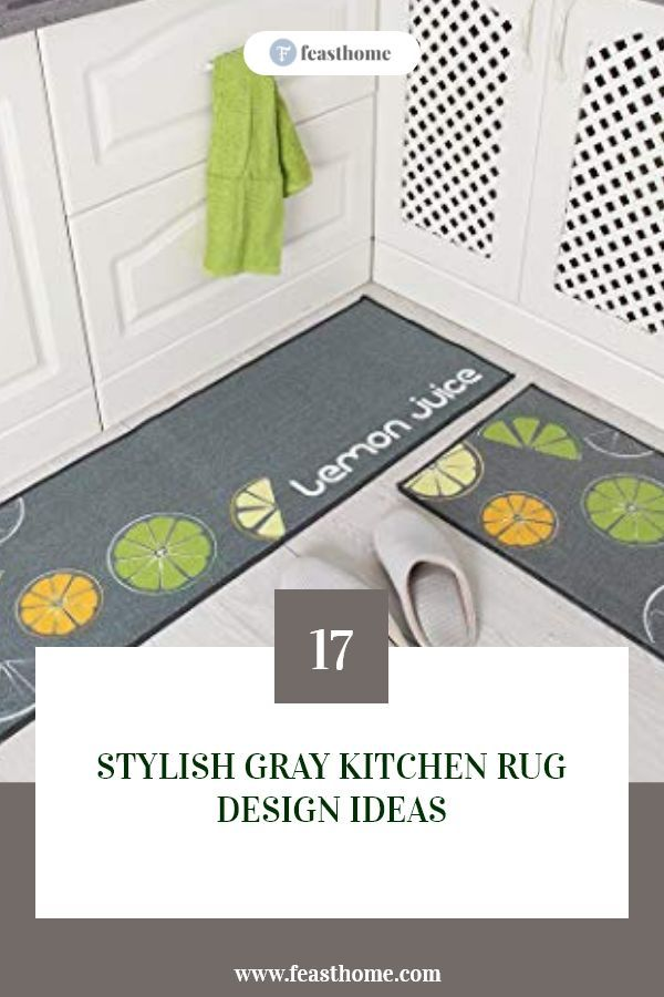 17 Stylish Gray Kitchen Rug Design Ideas Rug Design Gray