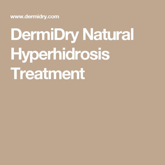 DermiDry Natural Hyperhidrosis Treatment