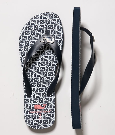 Such cute flip flops from Vineyard Vines!  $35 @Perry Nelson Livonius