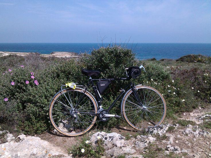 #weareinpuglia #touringbike #spring #randonneur