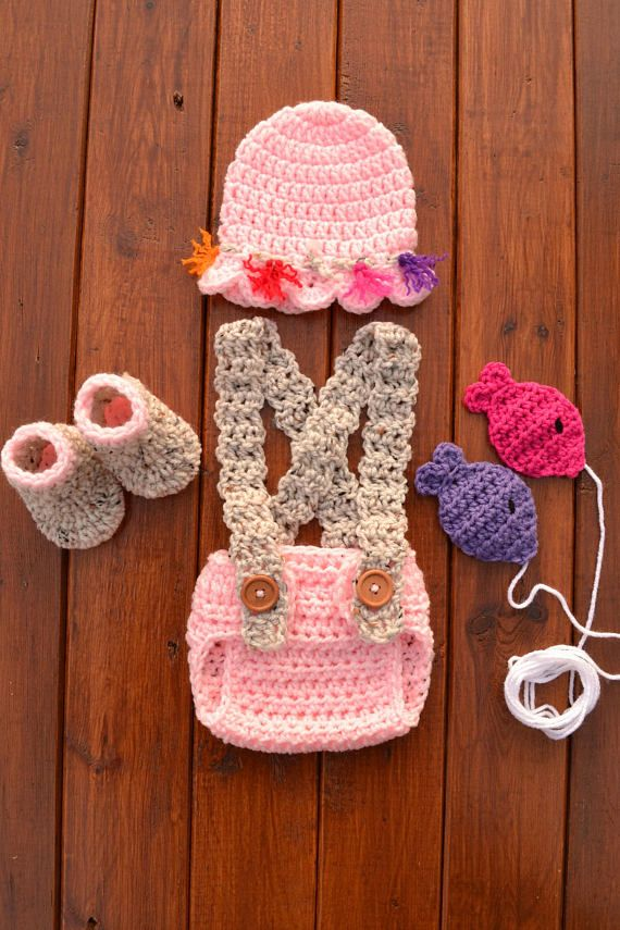 Newborn Girl Fishing Outfit Pink Baby Fishing Outfit Pink Newborn