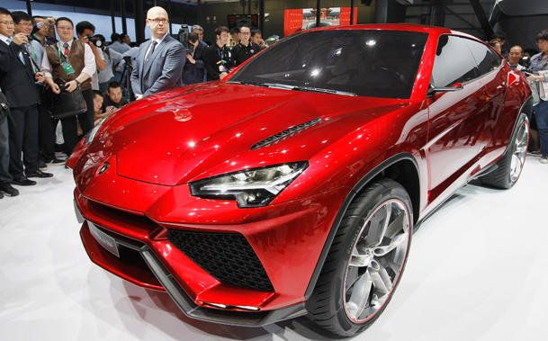 "new 2015 Lamborghini ""Urus"" posted on  yahoo's motoramic site."