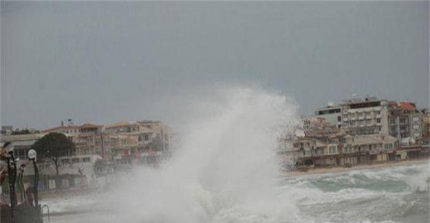 Meteoroloji'den Akdeniz için fırtına uyarısı!