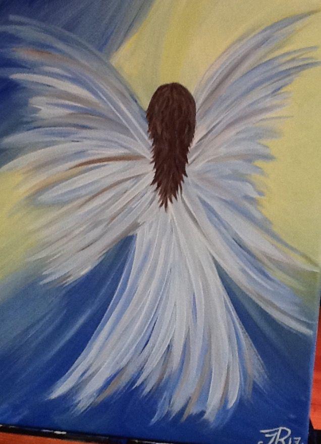 Angel Ascending Angel In 2019 Painting Angel Art