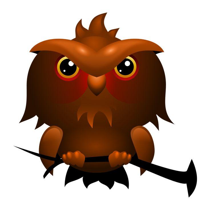 owl clip art pinterest - photo #22