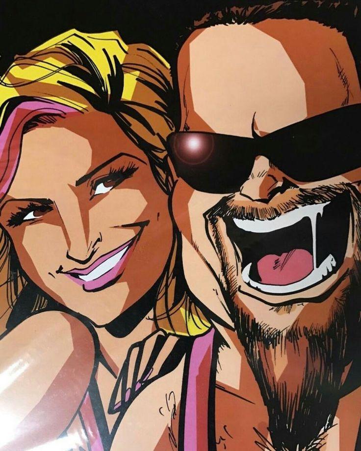 Natalya & Jim Neidhart