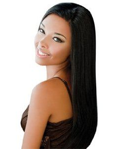 """CHOCOLATE 16"""" - Ever Beauty 100% Human Hair Chocolate Yaky Weave Extensions #2 by Ever Collection. $44.47"""