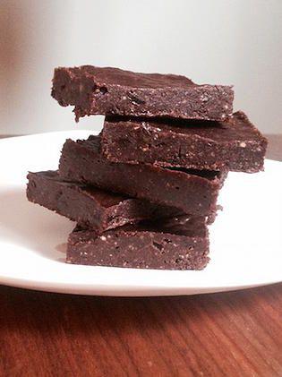 Rachelle et Coco | Brownies fous sans cuisson