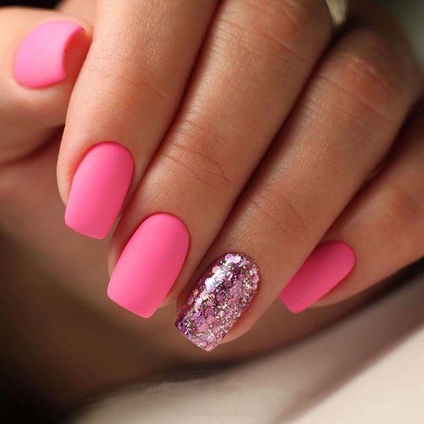 Manikyur Nails Nails Pink Chevron Nails Manicure