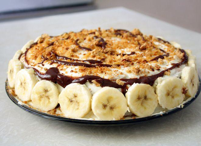 Быстрый рецепт бананового торта   Ссылка на рецепт - https://recase.org/bystryj-retsept-bananovogo-torta/  #Выпечка #блюдо #кухня #пища #рецепты #кулинария #еда #блюда #food #cook
