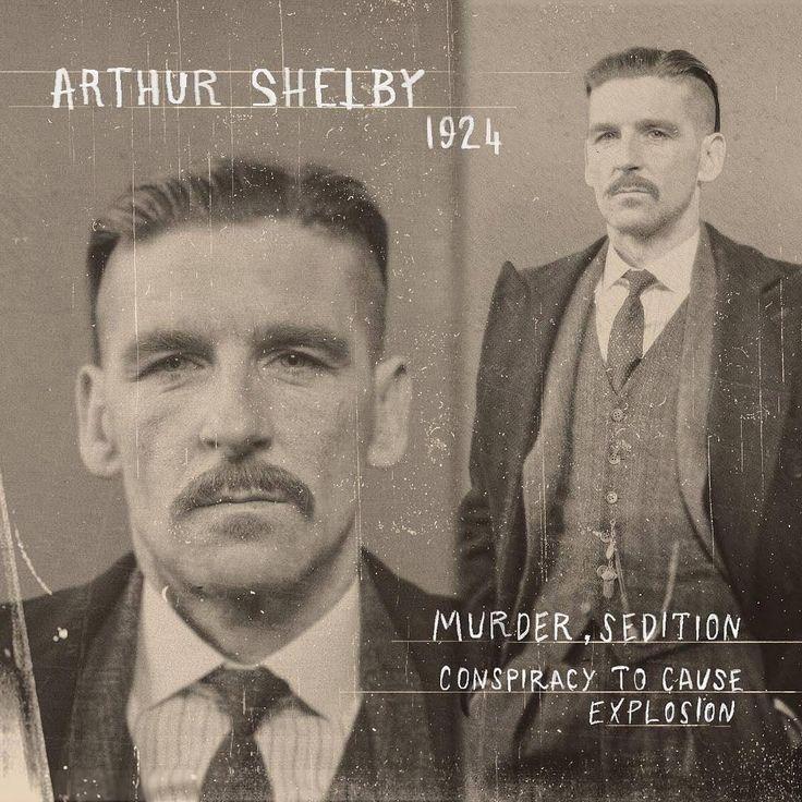 Arthur.Peaky Blinders 4.This is a promo 4 season, not spoiler.