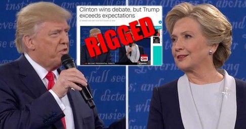 CNN Rigs Its Own Poll AGAIN to Claim Clinton Won the Debate - http://conservativeread.com/cnn-rigs-its-own-poll-again-to-claim-clinton-won-the-debate/