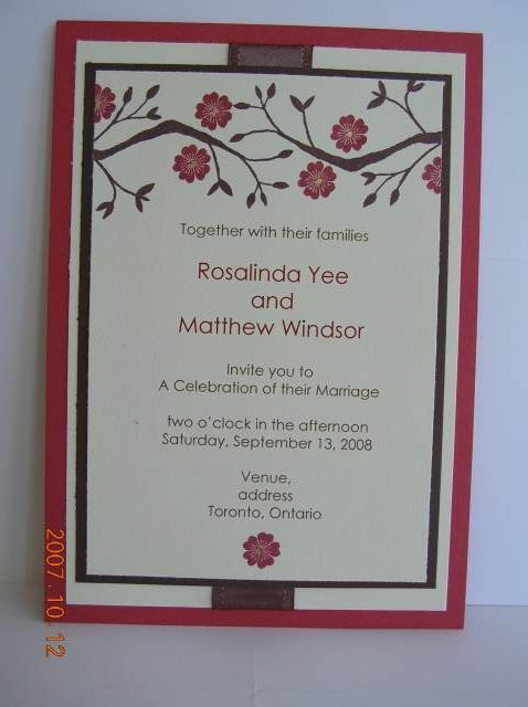 188 best card making wedding images on pinterest card wedding wedding invite 2 stopboris
