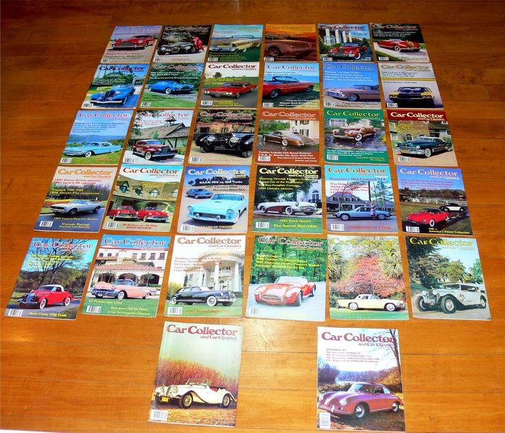 Vintage car magazines-32 car collector magazines lot-1970's car magazines-1980's classic car magazines-muscle cars-antique cars lot by BECKSRELICS on Etsy
