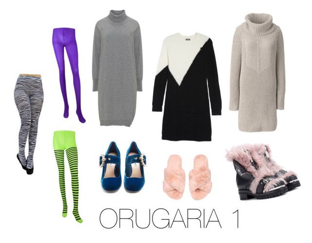 """""""ORUGARIA 1"""" by fsh-style on Polyvore featuring moda, Lands' End, Vince Camuto, Miu Miu y Alexander McQueen"""