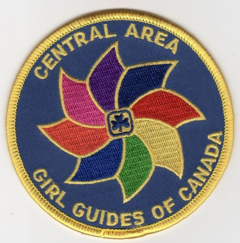 GGC-CENTRAL-AREA-Ont-Patch-Badge-Discontinued-Guides-Girl-Canada-Scouts