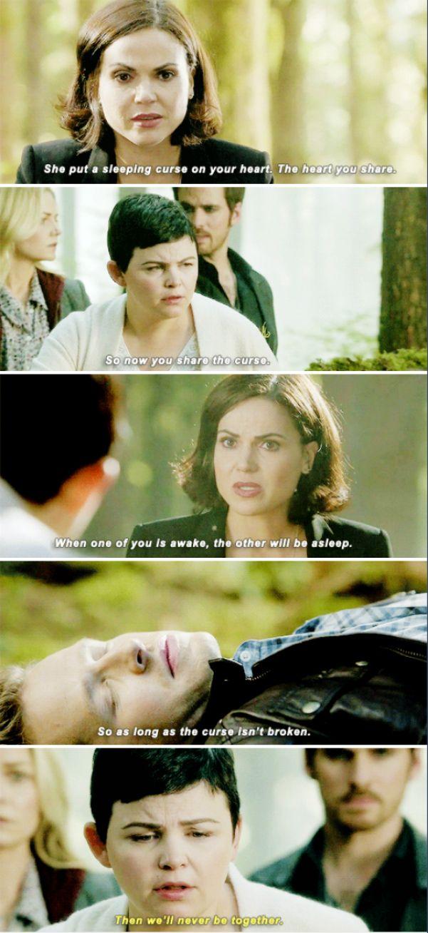"Regina, Snow White and David - 6 * 7"" Heartless"" #Snowing"