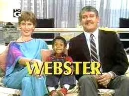 Webster. In een lange reeks van Amerikaanse comedies die in de jaren 80 de NLse tv bestormden. Wel een aandoenelijk en uberclever manneke dus natuuuuurlijk keek je!