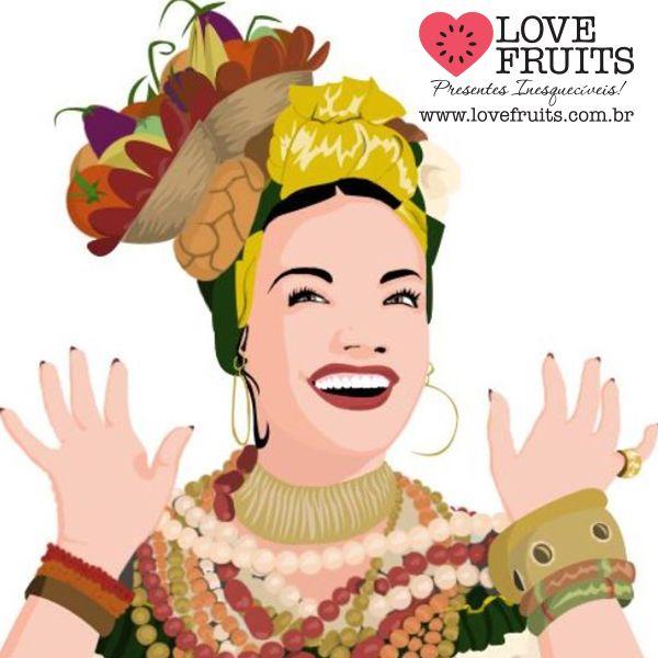 A Pequena Notável revive no Carnaval! #CarmenMiranda  Acesse: http://blog.lovefruits.com.br/post/a-pequena-notavel-revive-no-carnaval
