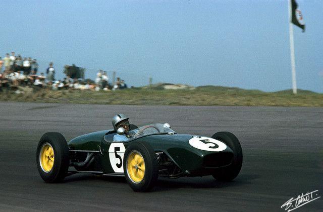 1960 GP Holandii (Alan Stacey) Lotus 18 - Climax