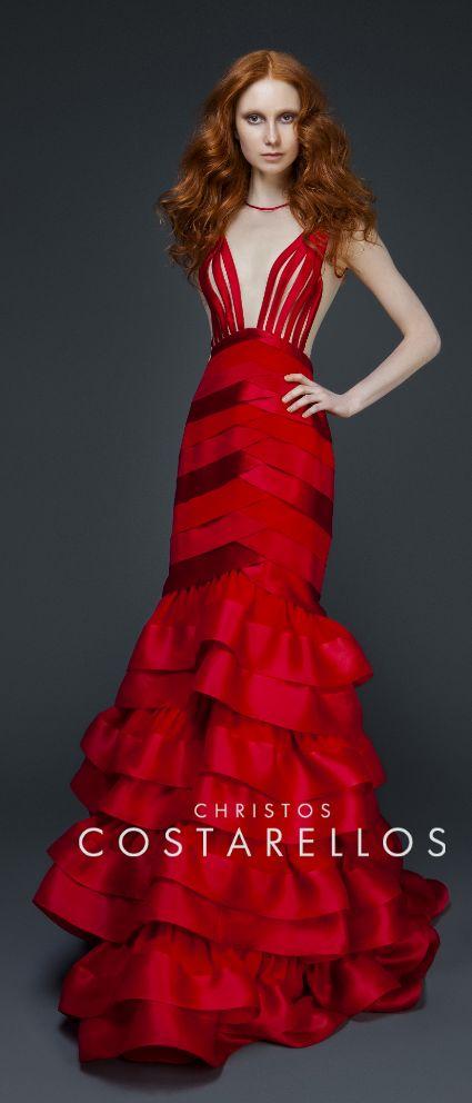 CHRISTOS COSTARELLOS AW 14-15 #fashion #costarellos www.costarellos.gr