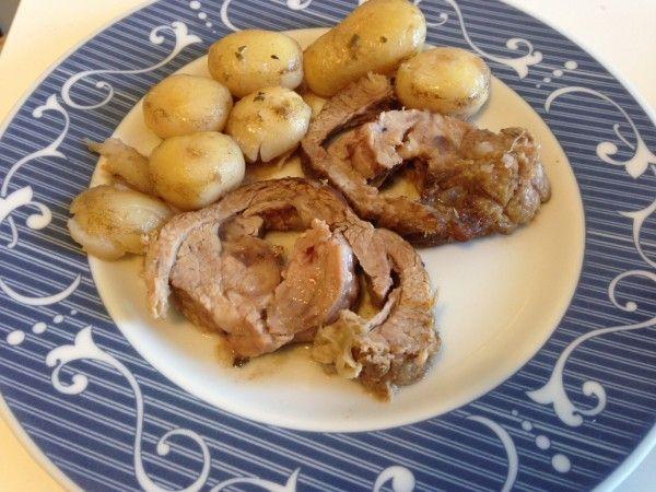 #arrosto con #patate novelle (#ricetta #secondopiatto) | Un Avvocato ai Fornelli