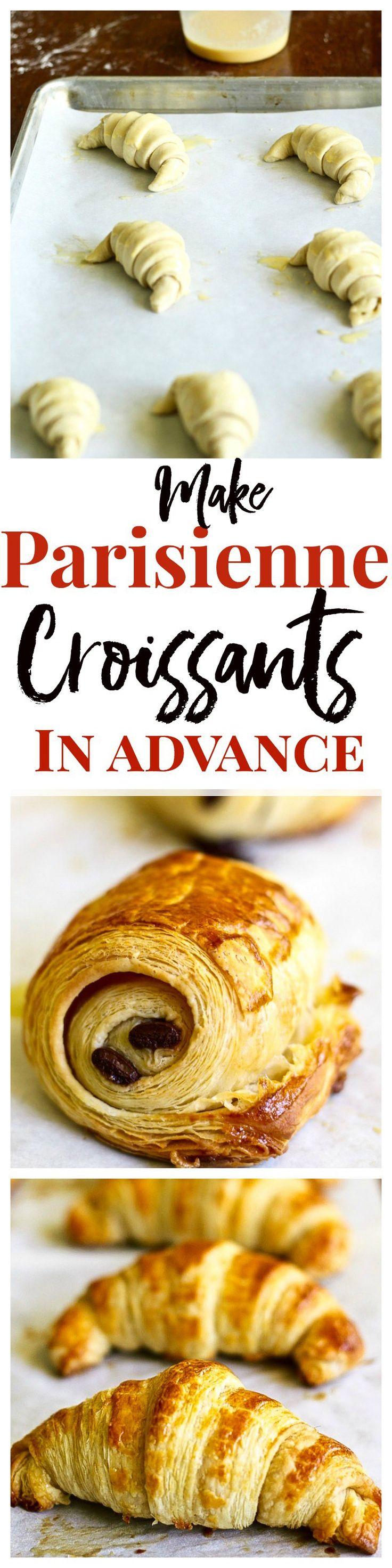French Croissant Recipe  Chocolate Croissants (40 Stepbystep Photos)