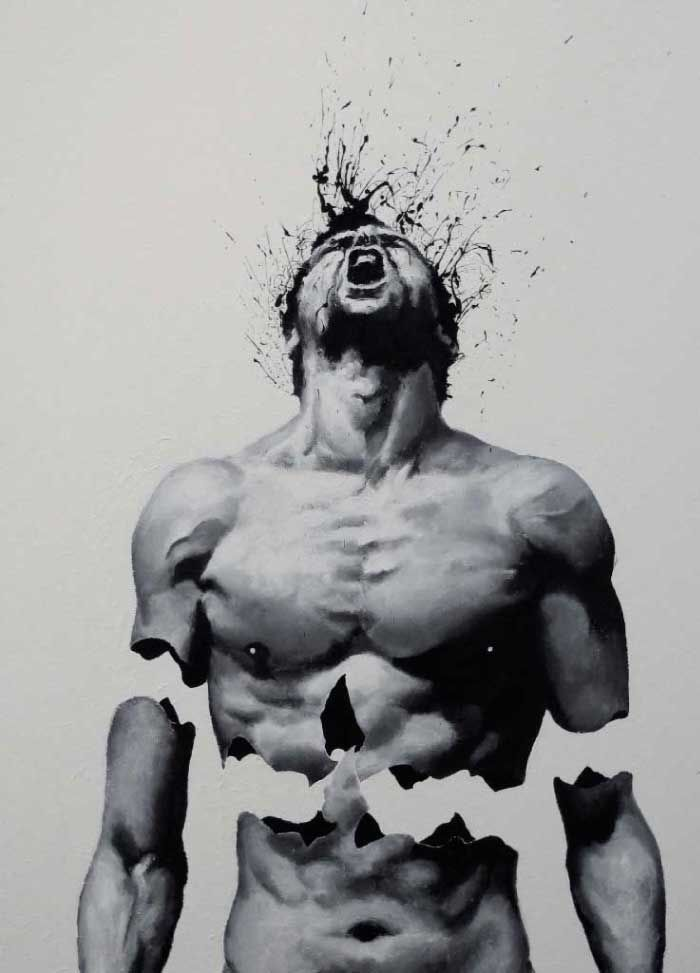 Amazing Emotional Surreal Finger Paintings Art By Paolo Troilo