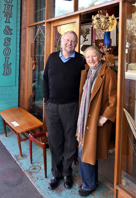 Linda & Alan Graham of Finishing Touches Restorations    http://www.urbanwalkabout.com/sydney/lets-talkabout/