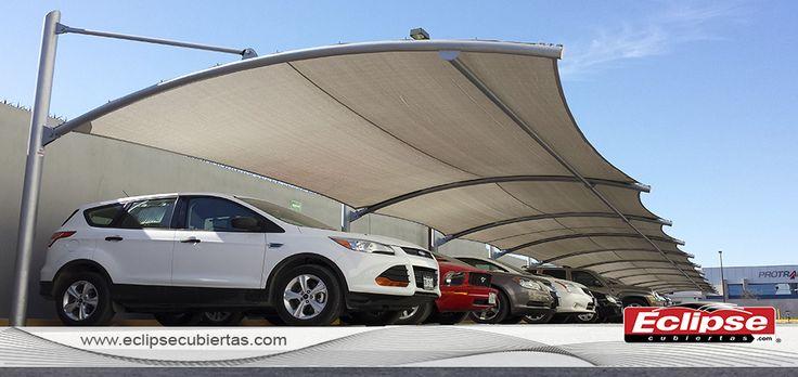 1000 images about toldos curvos on pinterest autos and for Toldos para estacionamiento