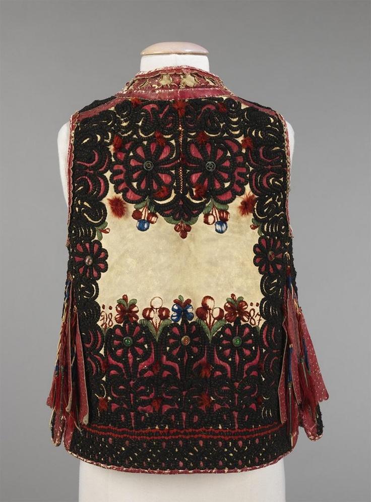 Moravian Men's Jacket, 1887