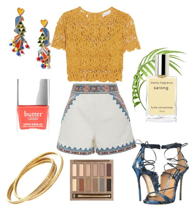 """Untitled #121"" by bee100 on Polyvore featuring Talitha, Miguelina, Tory Burch, Urban Decay and Dsquared2"