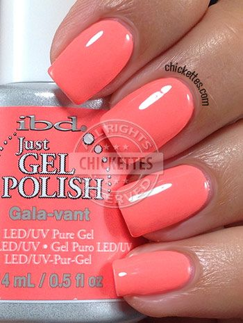 Chickettes.com - ibd Just Gel Polish Social Lights Collection - Gala-vant