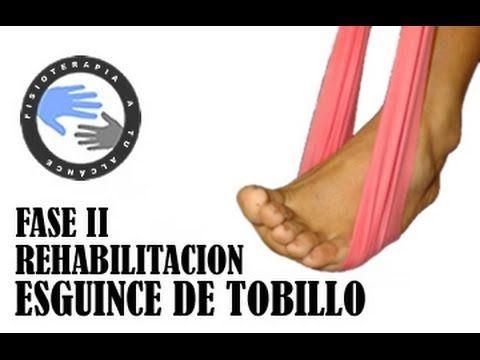 Esguince de tobillo, rehabilitacion fase 2 / Fisioterapia a tu alcance