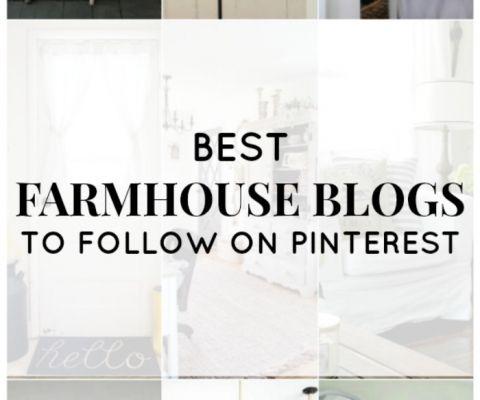 Best Farmhouse Blogs to Follow on Pinterest | www.knickoftime.net