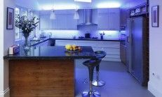 Stylish Led Lighting Kitchen Cabinets 2016