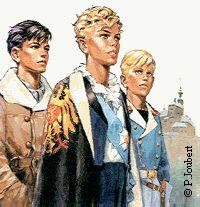 Pierre Joubert illustrateur . Le Prince Éric, collection Signe de Piste. livres de mon adolescence