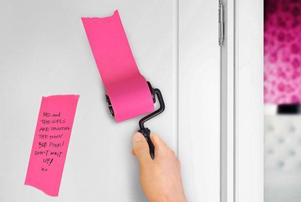 ありそうでなかった、どこかに貼り付けたくなる「ローラーメモ帳」 | roomie(ルーミー)