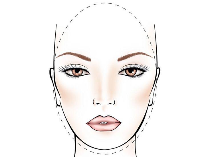 contouring viso ovale