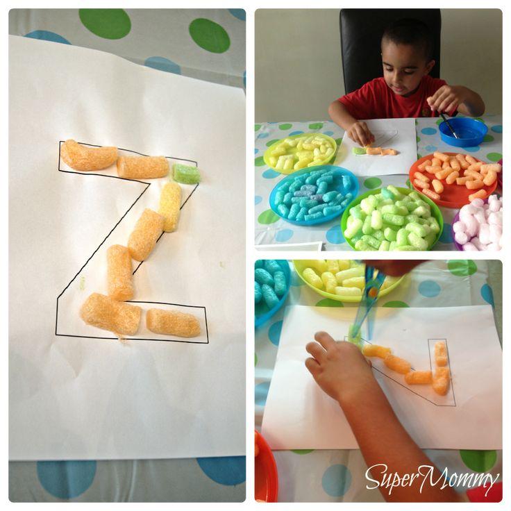 Magic Noodle Kids Craft