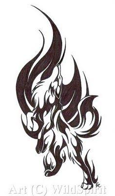 Best 25+ Tribal wolf tattoos ideas on Pinterest | Tribal wolf ...