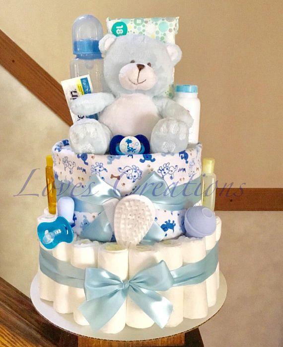 Baby Boy Diaper Cake Baby Diaper Cake Boy Diaper Cake Boy