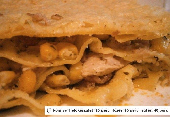 Carbonara lasagne
