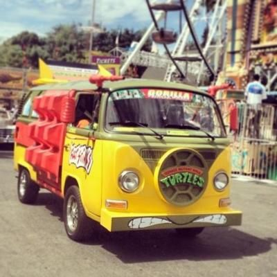 The teenage mutant ninja turtles are coming! The Teenage Mutant Ninja Turtle Van is available for birthday parties, special events, and photo...