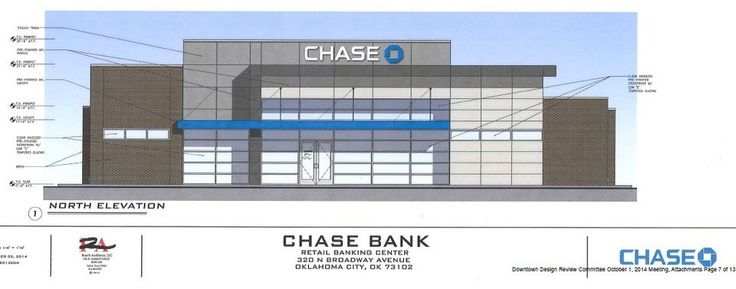 The future downtown Chase Bank branch at 303 N Broadway is shown in this rendering. Provided  <strong></strong>