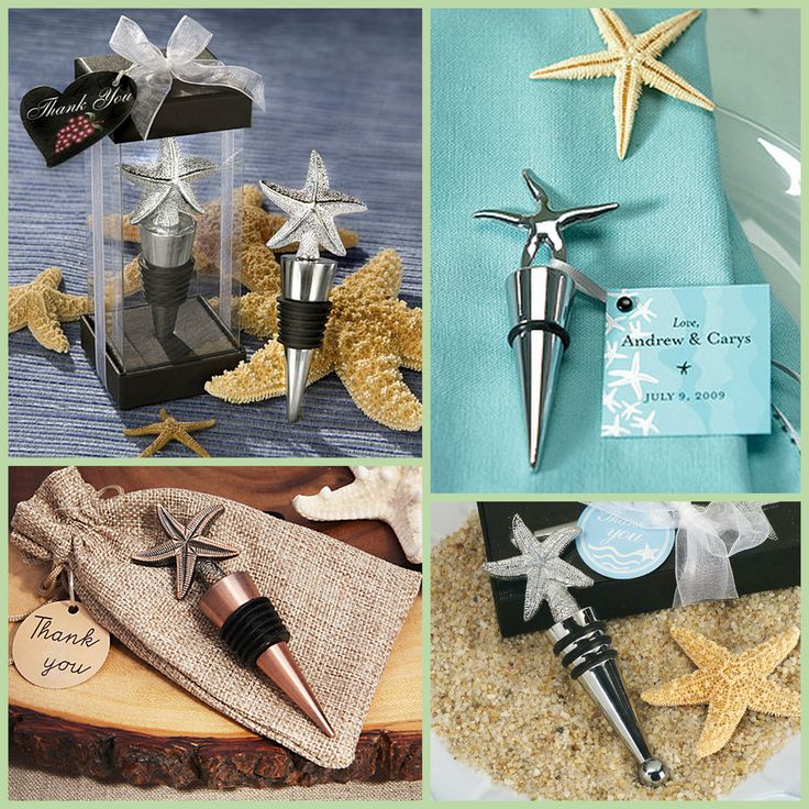 Starfish Bottle Stopper from HotRef.com