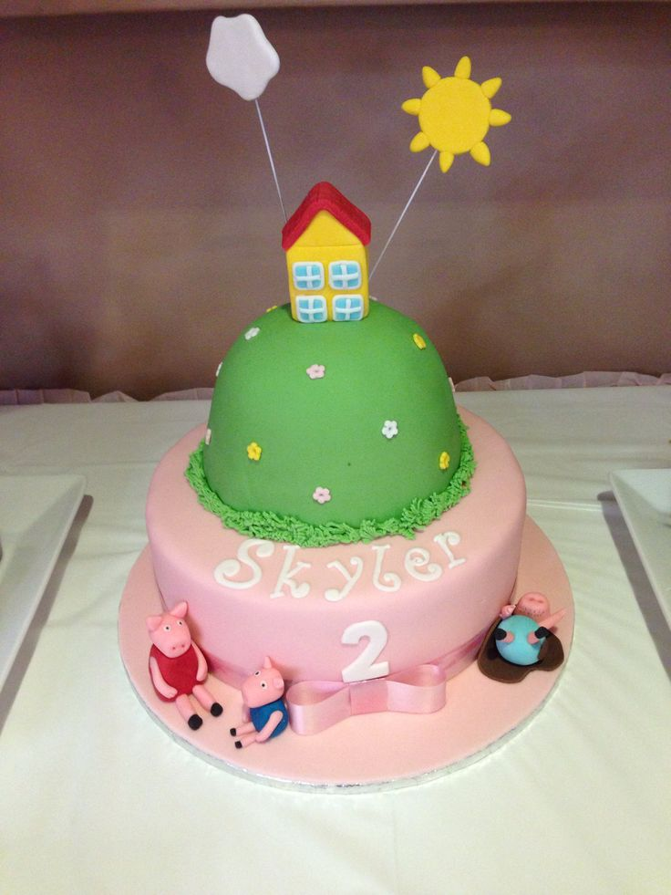 Cake Ideas For 2nd Birthday Girl : 1000+ images about Skylers 2nd birthday on Pinterest My ...