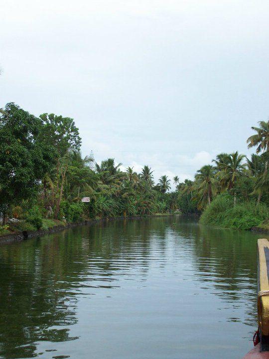 Beautiful India - Kerala backwaters