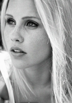 Rebekah from the originals,and vampire diaries,i just got the hugest crush.............I like her accent <3 Claire Holt. Rebekah