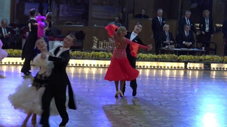 WDSF World Championship Junior II Ten Dance*COSMIN SI MARIA*Finala Standard